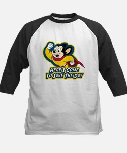 Mighty Mouse Save The Day Kids Baseball Jersey