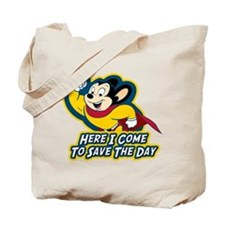 Mighty Mouse Save The Day Tote Bag