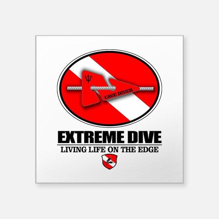 Extreme Dive (Line Marker) Sticker