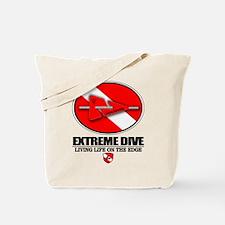 Extreme Dive (Line Marker) Tote Bag