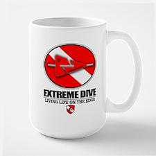 Extreme Dive (Line Marker) Mugs