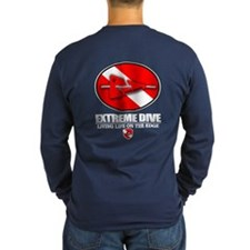 Extreme Dive (Line Marker) Long Sleeve T-Shirt