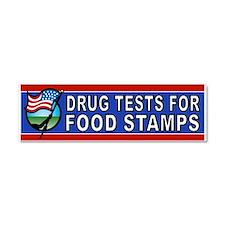 DRUGS FOOD STAMPS Car Magnet 10 x 3