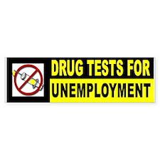 DRUG TESTS Bumper Bumper Sticker