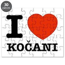 I love my kocani Puzzle