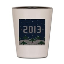 2013 Ugly Sweater Party   Shot Glass