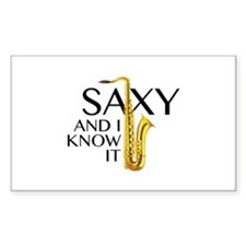 Saxy And I Know It Decal