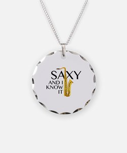 Saxy And I Know It Necklace