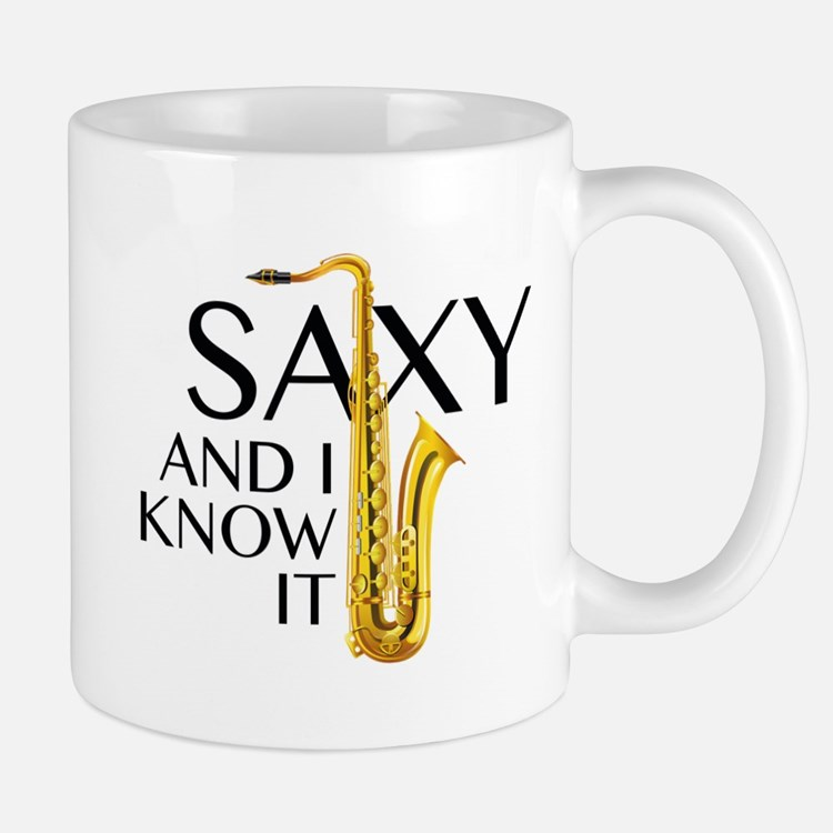 Saxy And I Know It Mug