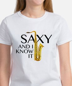 Saxy And I Know It Women's T-Shirt