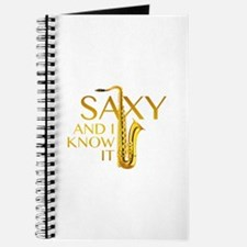 Saxy And I Know It Journal