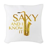 Saxophone Throw Pillows