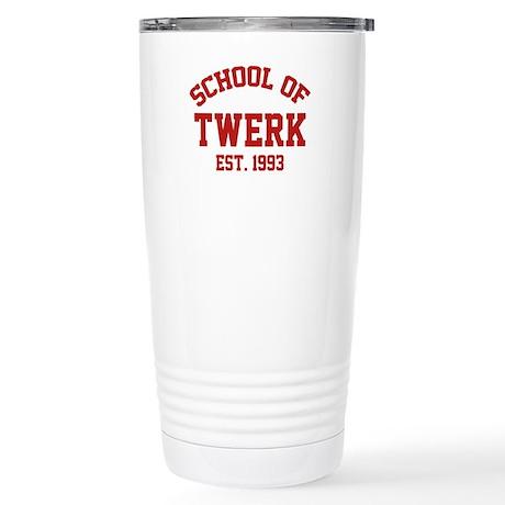 School Of Twerk Stainless Steel Travel Mug