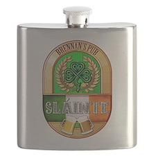 Brennan's Irish Pub Flask