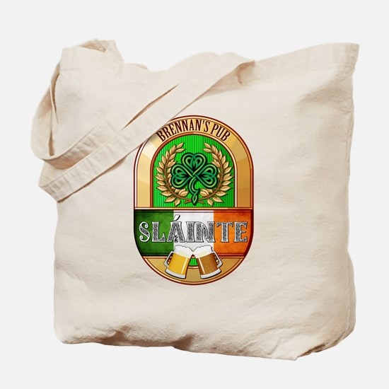 Brennan's Irish Pub Tote Bag