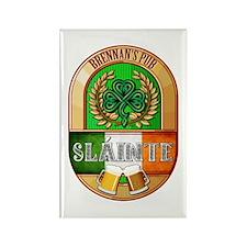 Brennan's Irish Pub Rectangle Magnet