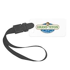 Grand Teton National Park Luggage Tag