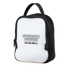 Unique Bbq smoking Neoprene Lunch Bag