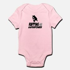Rapping is my Superpower Infant Bodysuit