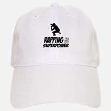 Rapping is my Superpower Baseball Baseball Cap