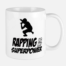Rapping is my Superpower Mug