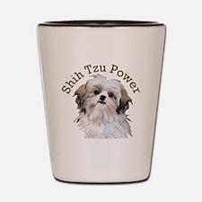 Shih Tzu Power Shot Glass