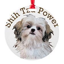 Shih Tzu Power Ornament
