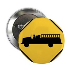 """Fire Station 2.25"""" Button (10 pack)"""