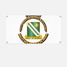 C Company - 701st MPB w Text Banner
