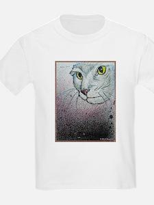Cat, cat face, art T-Shirt