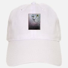 Cat, cat face, art Baseball Baseball Baseball Cap