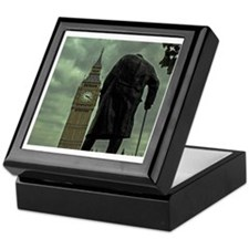Winston Churchill Keepsake Box