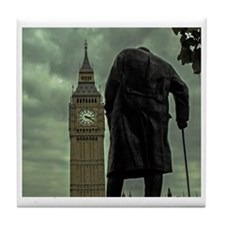Winston Churchill Tile Coaster