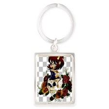 Angel In the Clouds Portrait Keychain