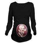 Razz Baby Long Sleeve Maternity T-Shirt