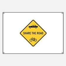 Share the Road Banner