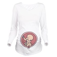 Intern Inside II Long Sleeve Maternity T-Shirt
