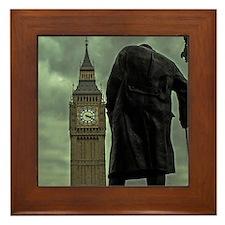 Winston Churchill Framed Tile