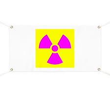 Radiation Warning Banner