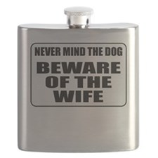 Beware Of The Wife Flask