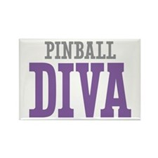 Pinball DIVA Rectangle Magnet (10 pack)