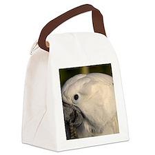 umbrella cockatoo Canvas Lunch Bag