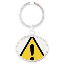 Warning sign Keychains