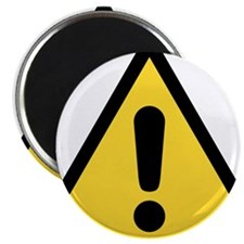Warning sign Magnets