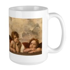 Detail of the Sistine Madonna Mugs