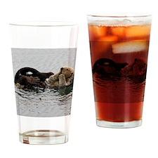 California Sea Otter Drinking Glass