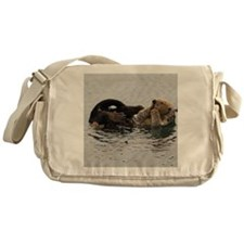 California Sea Otter Messenger Bag