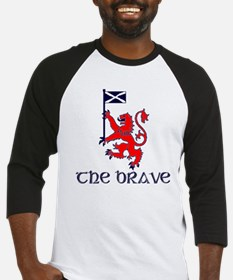 The brave Scottish lion Baseball Jersey