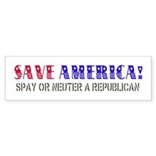 Save America Bumper Sticker