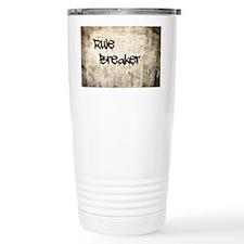 Rule Breaker Travel Coffee Mug